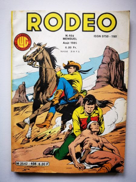 RODEO N°408 TEX WILLER - Le solitaire du West (2e partie) LUG BD
