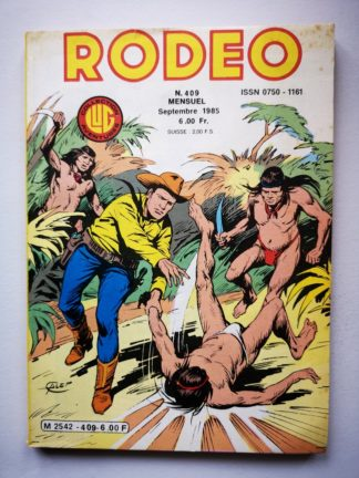 RODEO N°409 TEX WILLER  - Le solitaire du West (3e partie) LUG BD