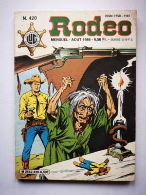 RODEO N°420 TEX WILLER  – L'Ombre de Méphisto (2e partie) LUG 1986