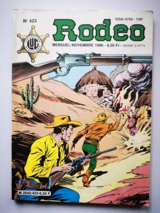 RODEO N° 423 TEX WILLER - L'Ombre de Méphisto (fin) LUG 1986 BD
