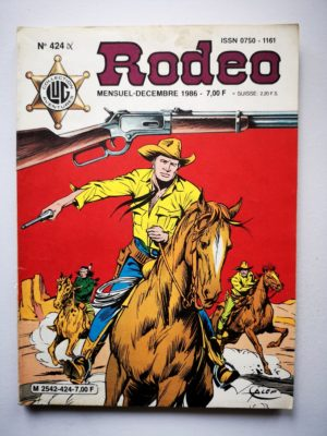 RODEO N°424 TEX WILLER – La patrouille perdue (2e partie) LUG 1986