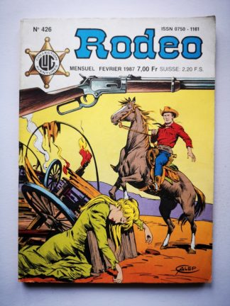 RODEO N° 426 TEX WILLER - La grande menace (2e partie) LUG BD