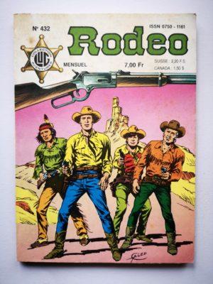 RODEO N°432 TEX WILLER – Au bord du gouffre (3e partie) LUG 1987