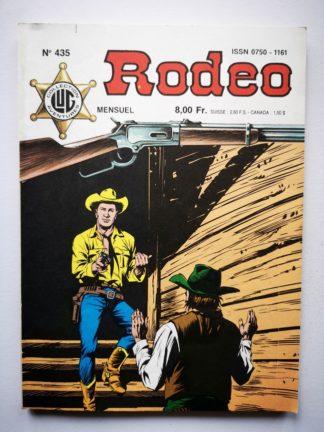 RODEO N° 435 TEX WILLER - Le chariot de feu (fin) LUG BD