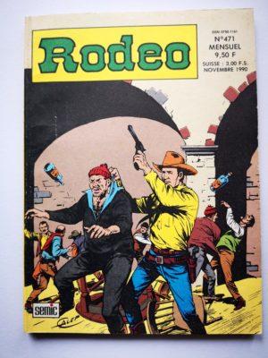 RODEO N°471 TEX WILLER – Réserve Indienne (fin) Homicide à Corpus Christi (1e partie) LUG 1990
