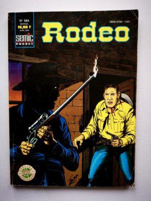 RODEO N°584 TEX WILLER – Attentat contre le président – LUG 2000