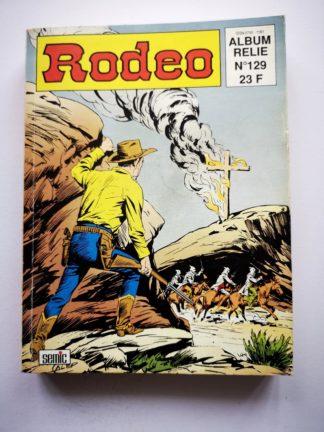 RODEO ALBUM 129 (N° 524-525-526) TEX WILLER LUG BD