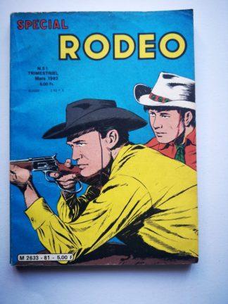 SPECIAL RODEO N° 81 Arizona (western) - LUG BD