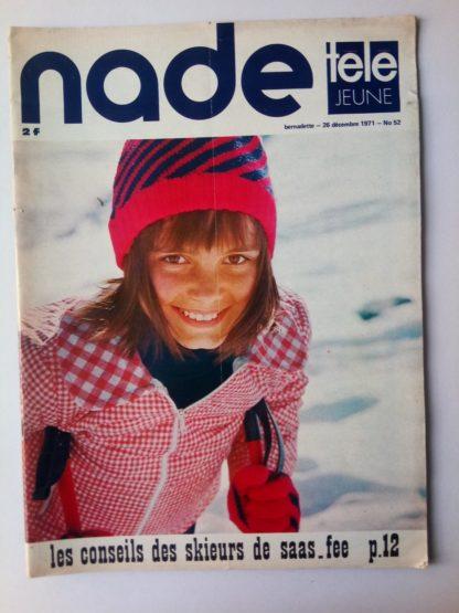 NADE N° 52Les jumelles - La Clef (26 décembre 1971) Janine Lay