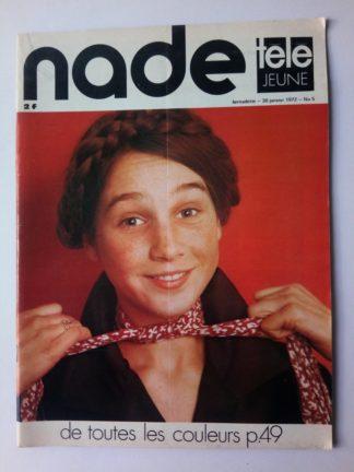 NADE N° 5Les jumelles - Victoire à Sapporo (30 janvier 1972) Janine Lay