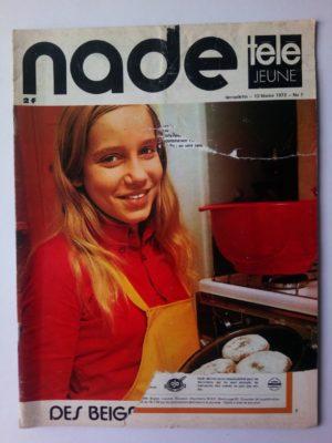 NADE N° 7 Les jumelles - Un éléphant blanc (13 février 1972) Janine Lay