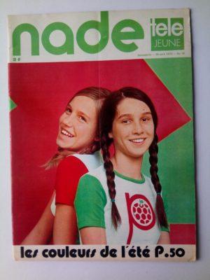 NADE N° 18 Les jumelles - Alerte à Pleumeur Bodou (30 avril 1972)