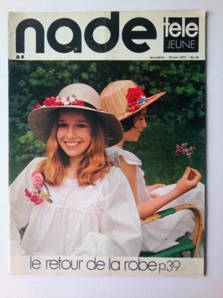 NADE N° 26 Les jumelles - La Joconde a disparu (25 juin 1972) Janine Lay