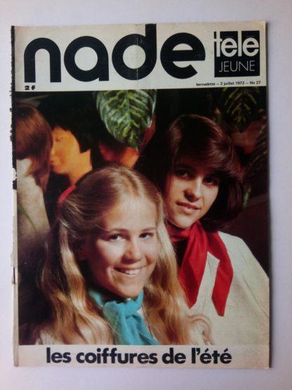 NADE N° 27 Les jumelles - Fend l'Azur (2 juillet 1972)