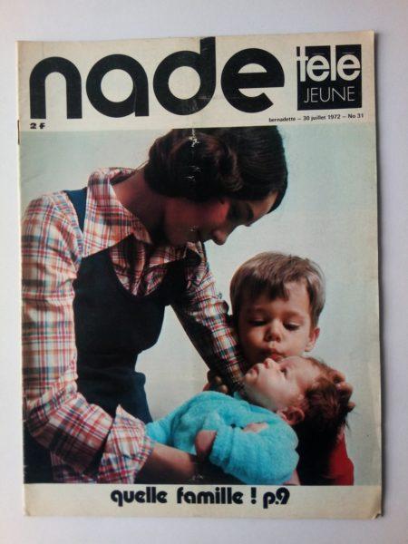 NADE N° 31 Les jumelles - Fend l'Azur (30 juillet 1972)