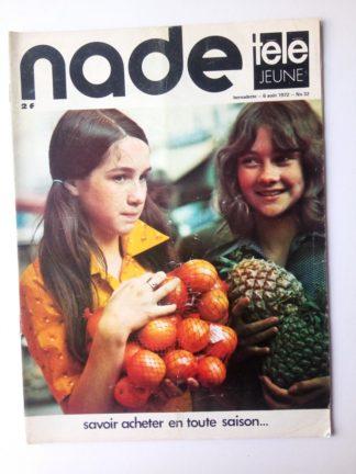NADE N° 32 Les jumelles - Fend l'Azur (6 août 1972)