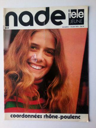 NADE N° 33 Les jumelles - Fend l'Azur (13 août 1972)