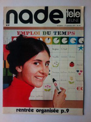 NADE N° 38 Les jumelles - Descendez-vous à la prochaine? (17 septembre 1972)