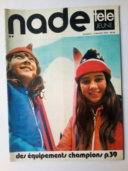 NADE N° 49 Les jumelles - Safari Photo (3 décembre 1972)