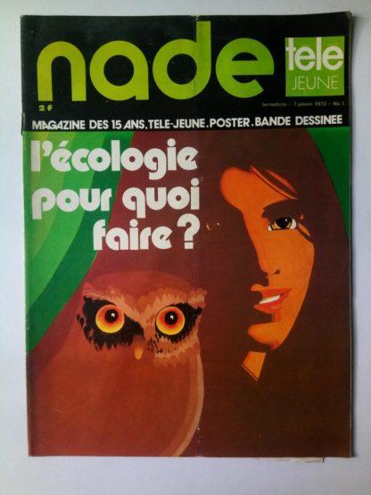 NADE N° 1 Les jumelles voient double (7 janvier 1973) Janine Lay