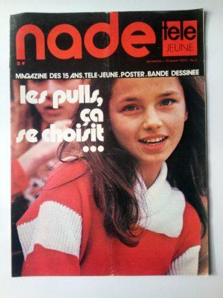 NADE N° 2 Les jumelles voient double (14 janvier 1973) Janine Lay