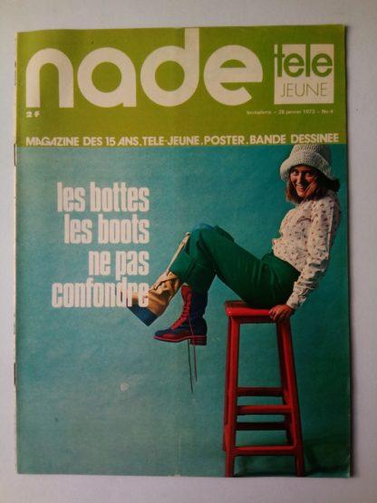 NADE N° 4 Les jumelles voient double (28 janvier 1973) Janine Lay