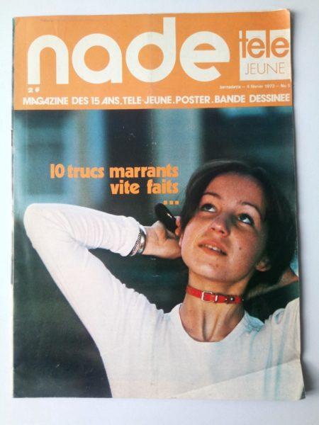 NADE N° 5 Les jumelles voient double (4 février 1973) Janine Lay