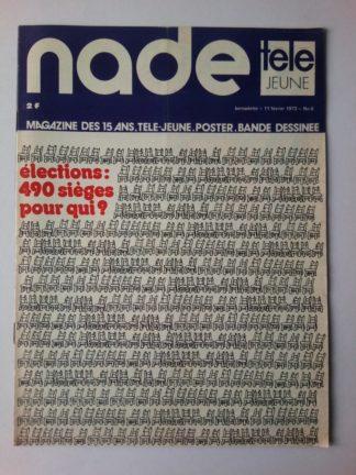 NADE N° 6 Les jumelles voient double (11 février 1973) Janine Lay