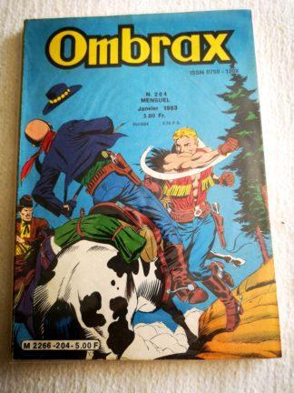 OMBRAX n° 204 - Echec à Carnilla - LUG BD