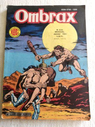 OMBRAX n° 228 - Martin Mystère - La cité des ombres diaphanes (2) BD LUG