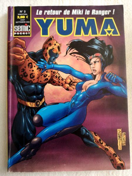 YUMA 2e Série N° 2 Larami - Les fermes de la vallée - SEMIC BD