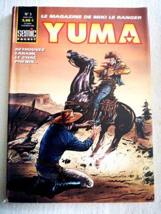 YUMA 2e Série N° 3 Larami - Sur la piste des Apaches - SEMIC BD