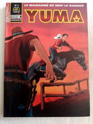 YUMA 2e Série N° 4 Larami - La route de l'Oregon - SEMIC BD