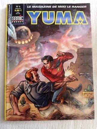 YUMA 2e Série N° 6 Larami - Le général N'a-qu'un-œil - SEMIC BD
