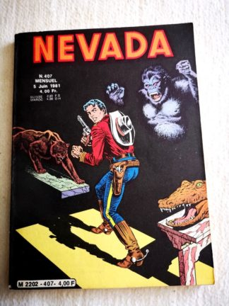 NEVADA N° 407 - MIKI Le Petit Ranger - LUG BD