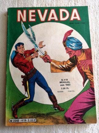 NEVADA N° 419 - Le Petit Ranger - L'écharpe de Fatma - LUG BD