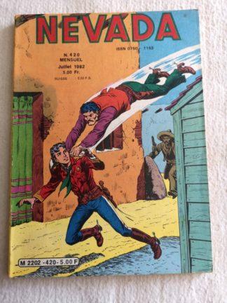 NEVADA N° 420 - Le Petit Ranger - A la poursuite de 4 hommes - LUG BD