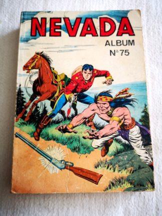 NEVADA ALBUM 75 (N° 422-423-424) Le Petit Ranger - LUG BD