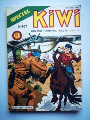 KIWI SPECIAL N°107 Le Petit Ranger – Tremblement de terre (1e partie) LUG 1986