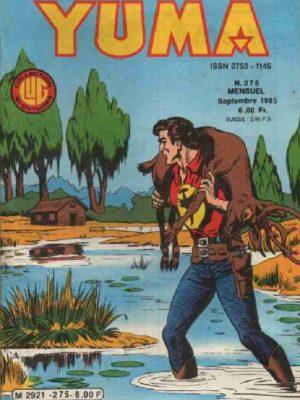 YUMA (1e Série) N°275 ZAGOR – Le tisseur – LUG 1985