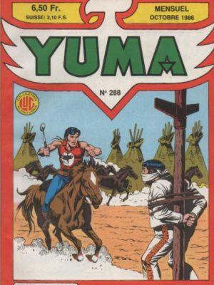 YUMA (1e Série) N°288 ZAGOR – Une machination diabolique – LUG 1986