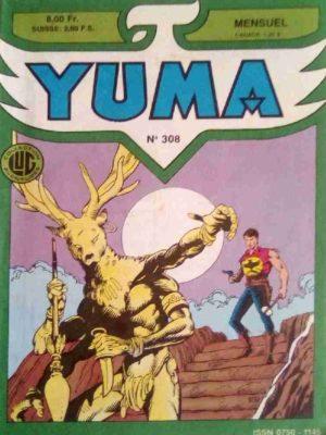 YUMA (1e Série) N°308 ZAGOR – Justice est faite – LUG 1988