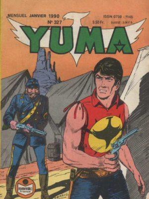 YUMA (1e Série) N°327 ZAGOR – Le repaire d'Okaji – LUG 1990
