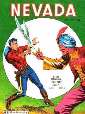 NEVADA N°419 – Le Petit Ranger – LUG 1982