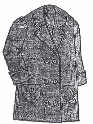 BLEUETTE – Vareuse 1913 pour la plage – Patron de poupée – 307