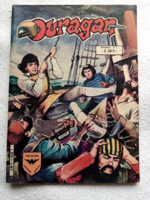 OURAGAN 2e série N° 1 – Les Corsaires Noirs (AREDIT 1984)
