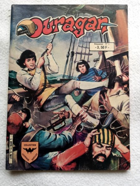 OURAGAN 2e série N° 1 - Les Corsaires Noirs (AREDIT 1984)
