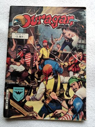 OURAGAN 2e série N° 2 - Les corsaires noirs à Kalaga (AREDIT 1984)