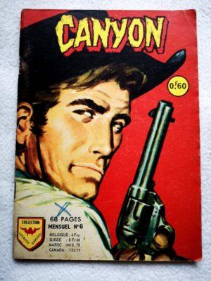 CANYON N°6 Le troisième témoin (Aredit Courage exploit 1968)