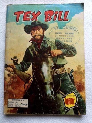 TEX BILL N°96 - Les voleurs du Colorado (AREDIT 1976)